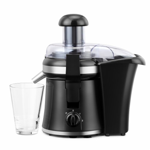 """Continental 2"""" Chute Juice Extractor 2-Speed with Pulse Perspective: bottom"""