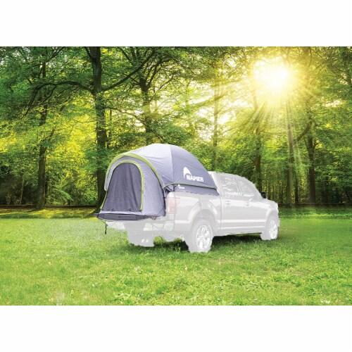 Napier 19 Series Backroadz Full Size Regular Bed 2 Person Truck Tent, Gray/Green Perspective: bottom