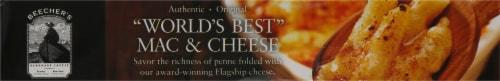 Beecher's World's Best Mac & Cheese Frozen Meal Perspective: bottom