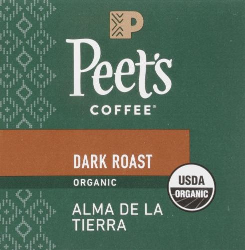 Peet's Coffee Organic Alma De La Tierra Dark Roast Coffee K-Cup Pods Perspective: bottom