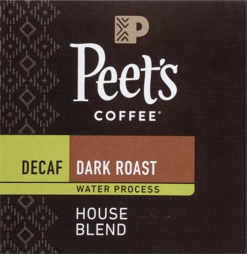 Peet's Coffee® Decaf House Blend Dark Roast Coffee K-Cup Pods Perspective: bottom