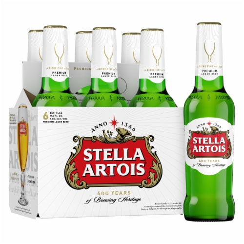 Stella Artois Belgium Lager Perspective: bottom
