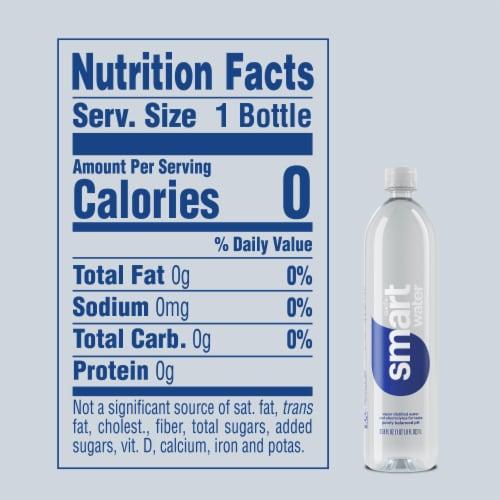 Smartwater Vapor Distilled Water Perspective: bottom