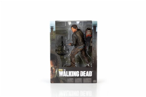 The Walking Dead Daryl Dixon Deluxe Poseable Figure | Measures 10 Inches Tall Perspective: bottom