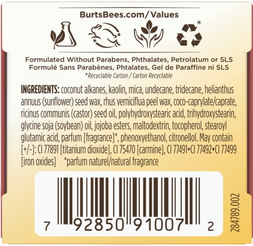 Burt's Bees Color Nurture Cream Blush - Strawberry Cream Perspective: bottom