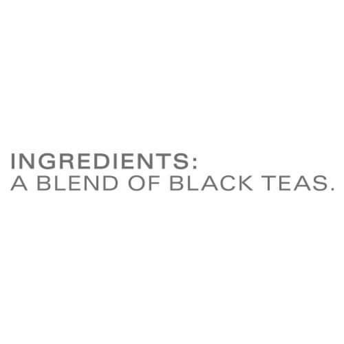 Tazo Awake English Breakfast Black Tea Bags Perspective: bottom