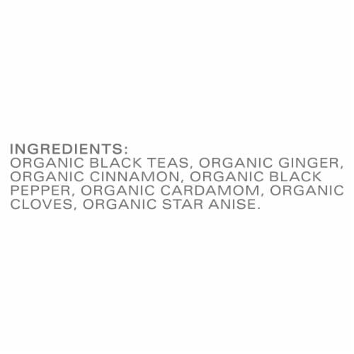 Tazo Organic Chai Black Tea Bags Perspective: bottom
