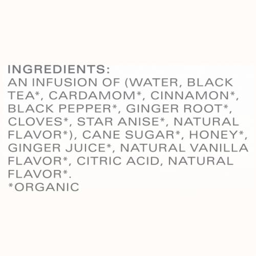 Tazo Organic Chai Latte Black Tea Concentrate Perspective: bottom