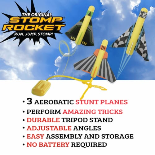 Stomp Rocket® Stunt Planes Perspective: bottom