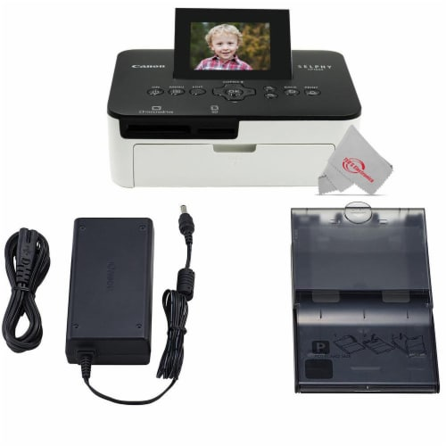 Canon Selphy Cp1000 Compact Colored Photo Printer Perspective: bottom