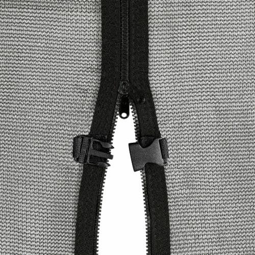 Upper Bounce® Easy Assemble Mega 8' X 14' Rectangular Trampoline Perspective: bottom