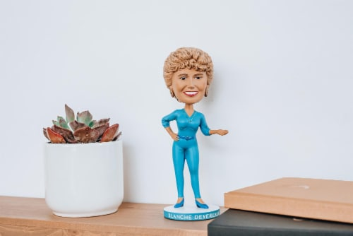 The Golden Girls 8 Inch Resin Bobblehead | Blanche Devereaux Perspective: bottom