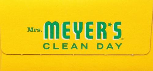 Mrs. Meyer's Clean Day Honeysuckle Dryer Sheets Perspective: bottom