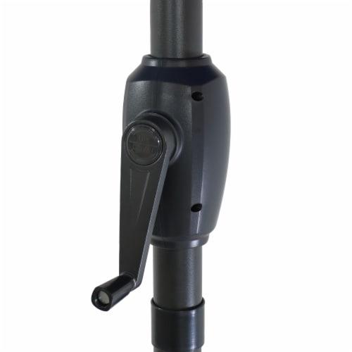Sunnydaze Patio Market Umbrella Blue Starry Galaxy Design - Aluminum - 8-Foot Perspective: bottom