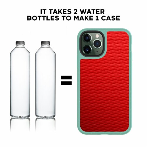 Terra Natural Eco-friendly Iphone 11 Case Perspective: bottom