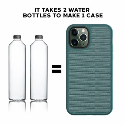Terra Natural Eco-friendly Iphone 11 Pro Max Case Perspective: bottom
