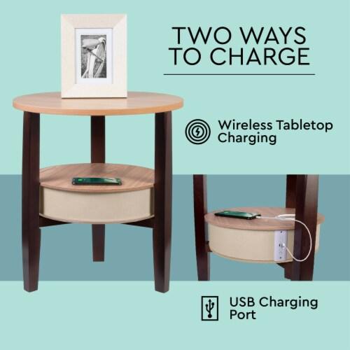 Wireless Fortis Speaker Table Perspective: bottom