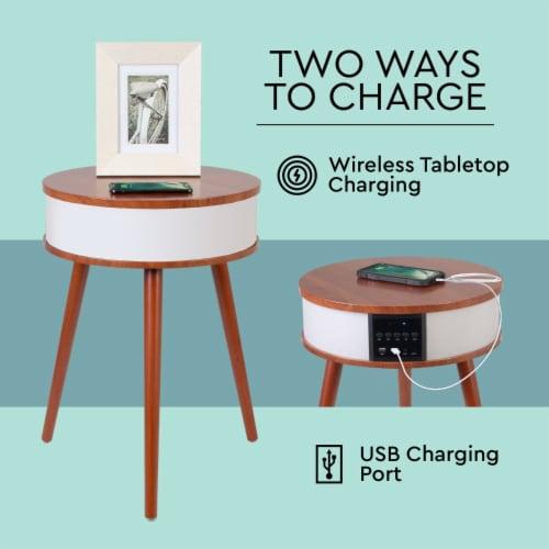 Wireless Light-up Led Speaker Table Perspective: bottom