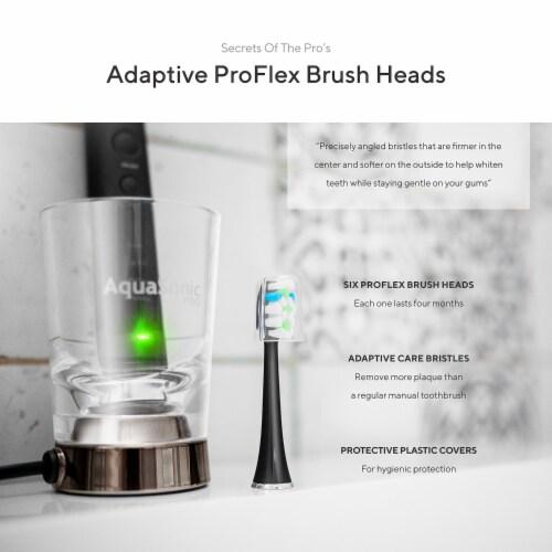 AquaSonic Black Series Pro - Electric Toothbrush Perspective: bottom