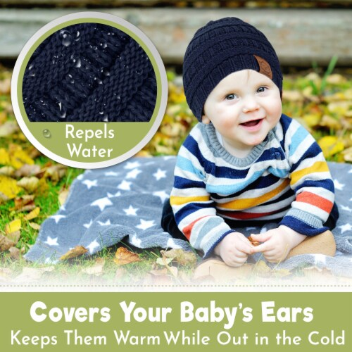 3-Pack Warmzy Baby Beanies (Urban) Perspective: bottom