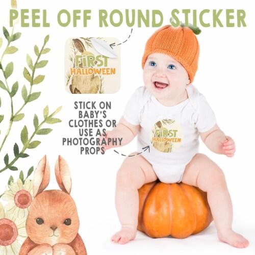 24 Baby Milestone Stickers Perspective: bottom