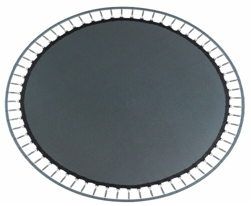 """Replacement Jumping Mat, Fits 16 x 14 FT Oval Trampoline Frame with 96 V-Hooks,7"""" springs Perspective: bottom"""