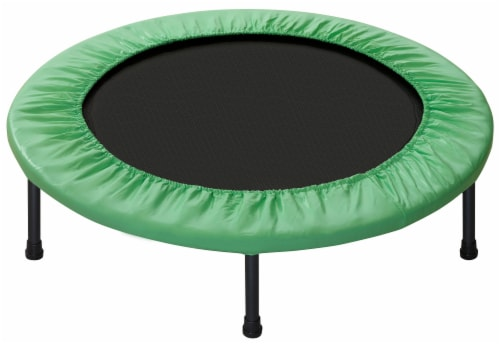 """Replacement Safety Pad, Fits 44"""" Round Mini Rebounder Trampoline with 6 Legs- Green Perspective: bottom"""