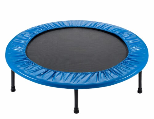 """Replacement Safety Pad, Fits 48"""" Round Mini Rebounder Trampoline with 8 Legs- Blue Perspective: bottom"""