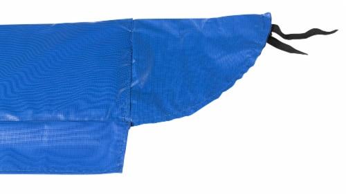 Super Spring Cover - Safety Pad, Fits 8 X 14 FT Rectangular Trampoline Frame - Blue Perspective: bottom