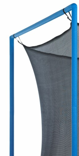 Safety Enclosure Net, Fits 15 FT Round Trampoline,6 Poles (3 Arches) - Adjustable Straps Perspective: bottom