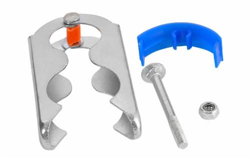 Trampoline Enclosure Hardware, Hinge Clamp connector - Set of 16 Perspective: bottom