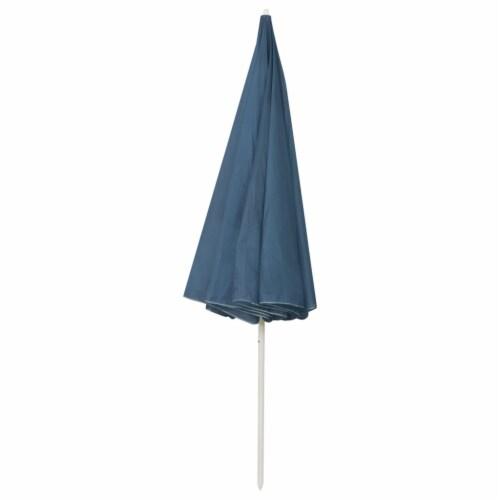 vidaXL Beach Umbrella Blue 118.1 Perspective: bottom