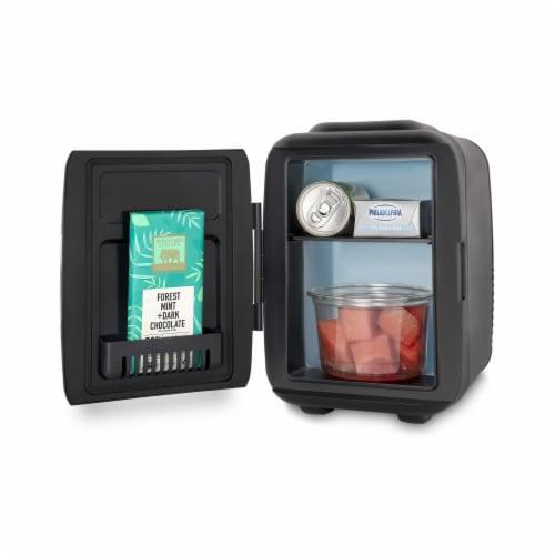 Cooluli Classic 4 Liter Portable Compact Mini Fridge - Black Perspective: bottom