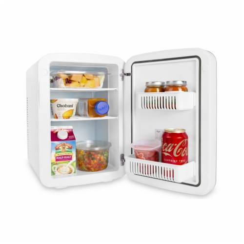 Cooluli Infinity 15 Liter Portable Compact Mini Fridge - White Perspective: bottom