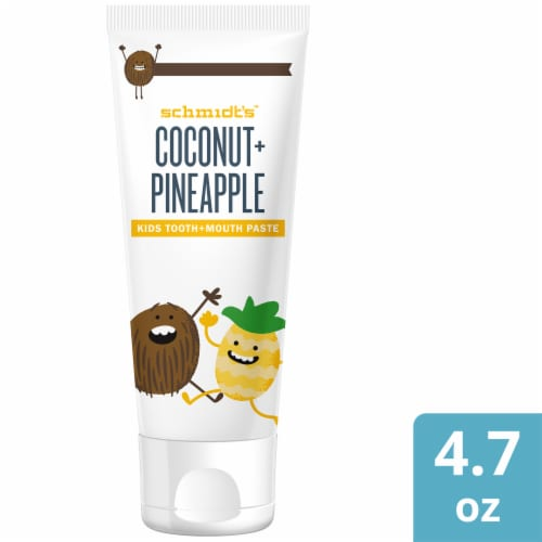 Schmidt's Coconut & Pineapple Tooth Paste Perspective: bottom