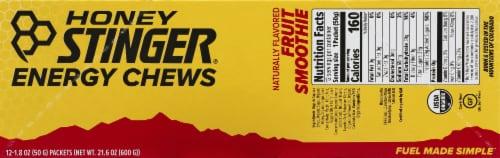 Honey Stinger Organic Fruit Smoothie Energy Chews Perspective: bottom