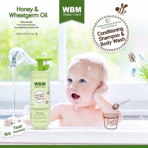 WBM Baby Care Body Wash, Hair Conditioning & Skin Moisturizing, Shampoo & Body Wash   10 Oz Perspective: bottom