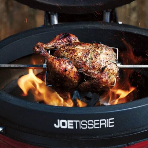 Kamado Joe JoeTisserie KJ-TISSERIENA Cast Aluminum Spit Rod & Forks Rotisserie Perspective: bottom