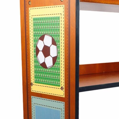 Fantasy Fields Kids Bookshelf Room Décor Kids Furniture Little Sports TD-0018A Perspective: bottom
