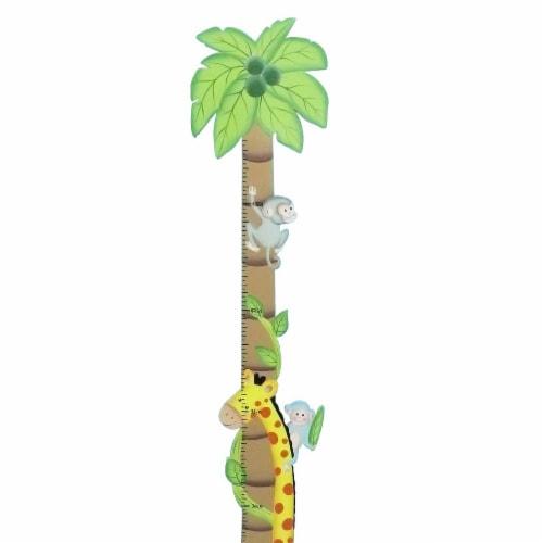 Fantasy Fields Kids Sunny Sarfari Kids Wooden Growth Height Chart Wall TD-0073A Perspective: bottom