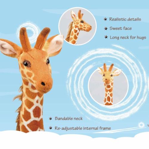 Linzy Toys Standing Giraffe Plush Perspective: bottom