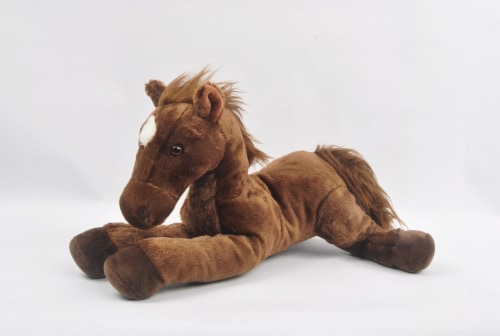 Linzy Toys Lucky Horse Plush Perspective: bottom