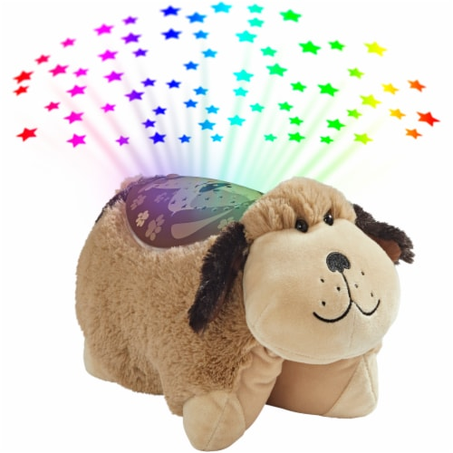 Pillow Pets Snuggly Puppy Sleeptime Lite Plush Toy Perspective: bottom