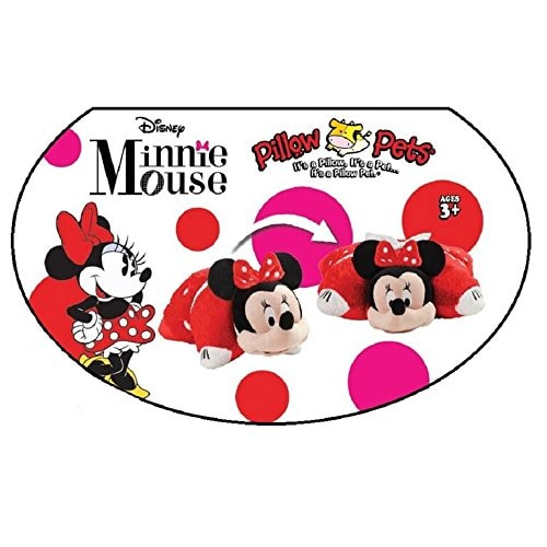 Pillow Pets Disney Rockin' the Dots Minnie Mouse Plush Toy Perspective: bottom