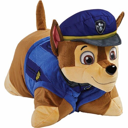 My Pillow Pets Nickelodeon Paw Patrol Chase Plush Toy Perspective: bottom