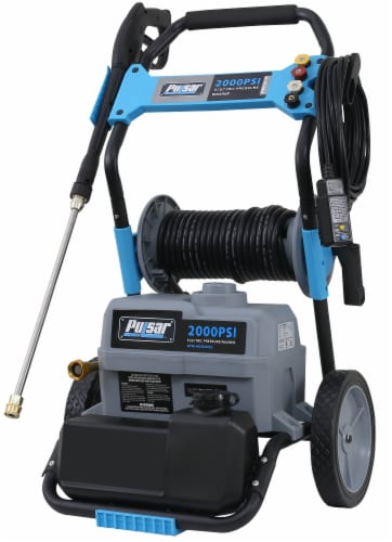 Pulsar Electric Pressure Washer with Hose Reel Perspective: bottom