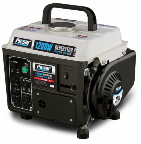 Pulsar 1200 Peak Watt 900 Running Watt Portable 2-Cycle Generator Perspective: bottom