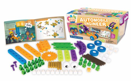Thames & Kosmos Kids First Automobile Engineer Kit Perspective: bottom