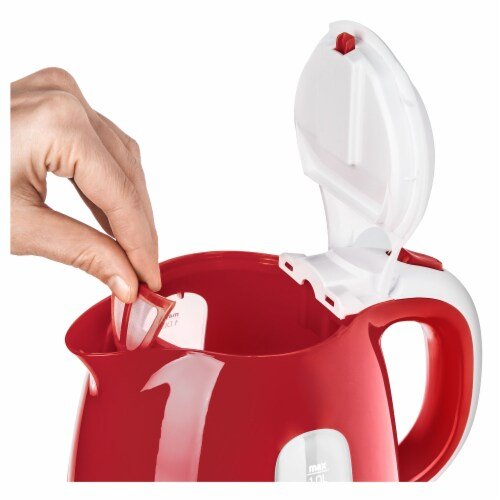 Sencor Small Electric Kettle - Red Perspective: bottom
