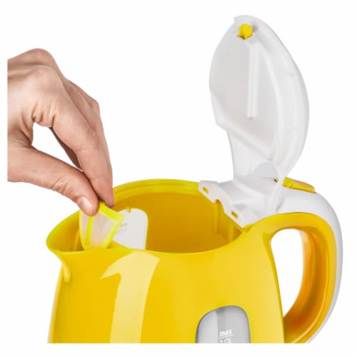 Sencor Small Electric Kettle - Yellow Perspective: bottom